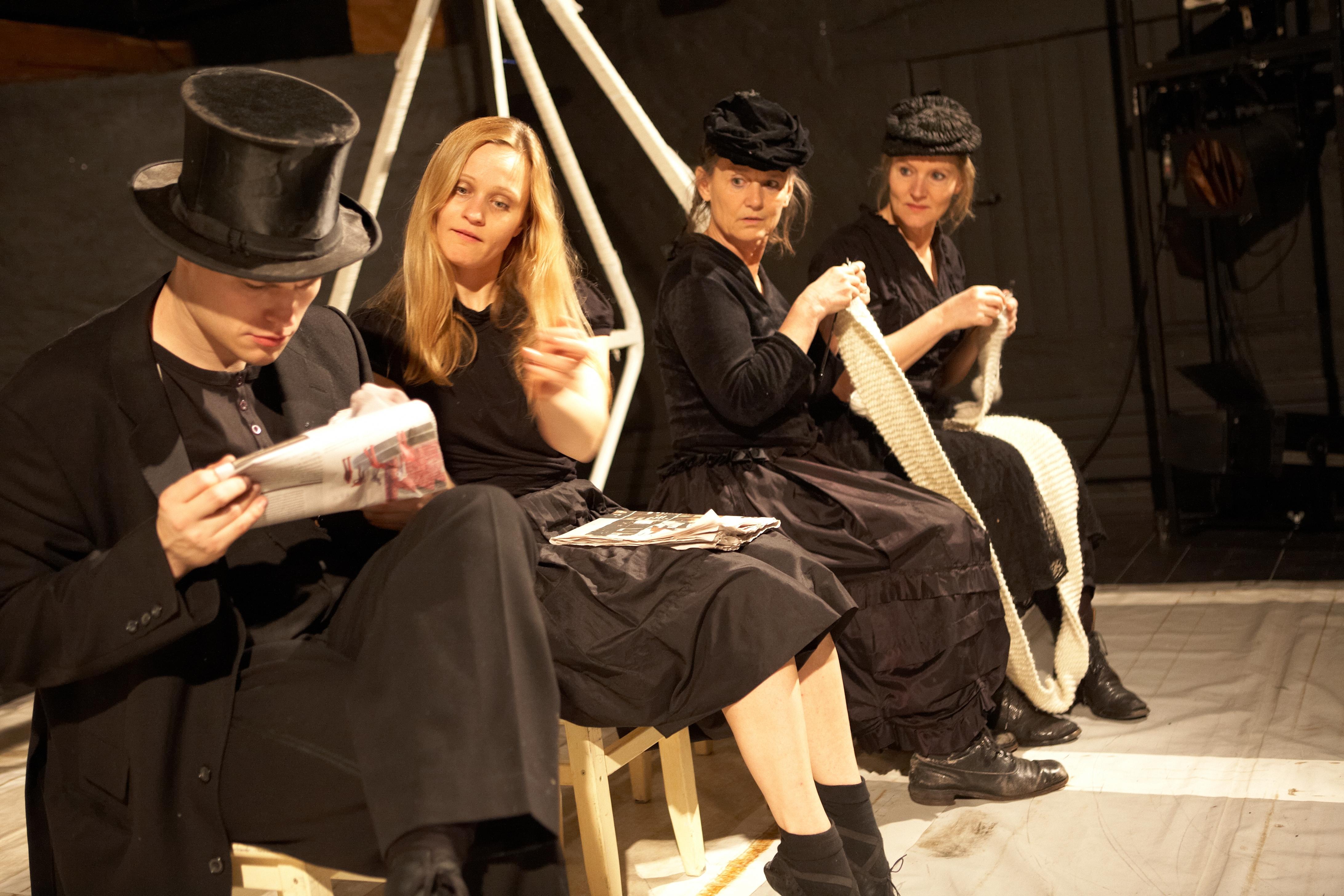 Anne Eisensee i Linedanseren